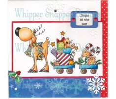 Whipper snapper designs rubber stamps