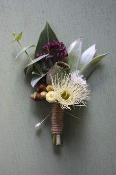 Buttonhole for Groom /& Groomsmen Boutonni\u00e8res Yellow Hellebore Boutonni\u00e8res Yellow Hellebores Flower Buttonhole Wild Flower Buttonhole