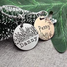 Diy Dog Collar, Dog Collar With Name, Dog Collar Tags, Pet Name Tags, Dog Tags Pet, Cat Tags, Engraved Pet Tags, Personalized Dog Tags, Cute Dog Tags