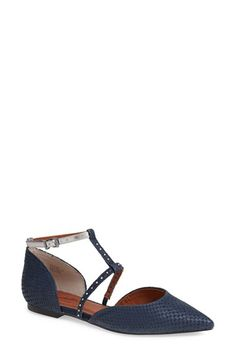 Seychelles 'Uncovered' Leather Ankle Strap Flat (Women) available at #Nordstrom via @simplylulustyle