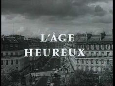 """L'âge heureux (générique) (1966) Comme j'aimais ce """"feuilleton"""" comme on disait alors. World Information, Tv Series, Thats Not My, Youtube, France, Diffusion, Joelle, Delphine, Philippe"""