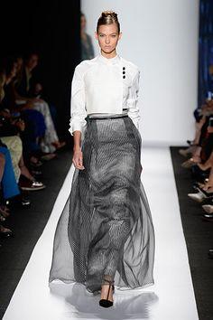 The Best Looks from New York Fashion Week: Spring 2014 - Carolina Herrera, Karlie Kloss