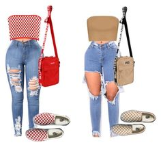 """""""Untitled #44"""" by jaliyahwilliams on Polyvore featuring Boohoo and Vans"""