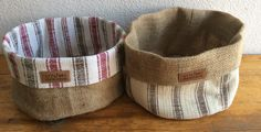 Hand-loomed traditional fabric from Anatolia makes for a fab coffee sack basket! 40 TL/15 euro