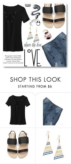 """""""YOINS"""" by angelstar92 ❤ liked on Polyvore featuring Shiseido"""