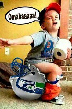 Denver Broncos - tacky but funny! Go Broncs! Denver Broncos Football, Nfl Denver Broncos, Broncos Fans, Broncos Memes, Broncos Stadium, Patriots Football, Nfl Memes, Football Memes, Football Stuff