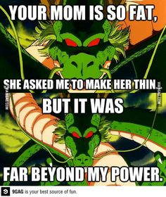 Lol, dbz joke