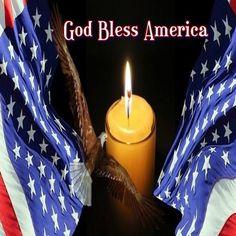 God Bless America, Tea Lights, Candles, Appreciation, Usa, American, Tea Light Candles, Candy, Candle Sticks