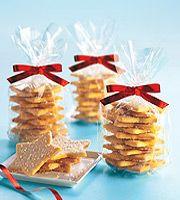 kerstster koekjes