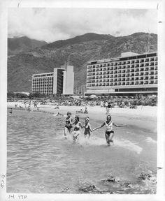 Cuando Macuto lucía así, con su hotel Sheraton.