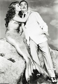 vintagegal:  Ann Blyth and William Powell inMr.Peabodyand theMermaid(1948) <3<3<3<3<3<3<3