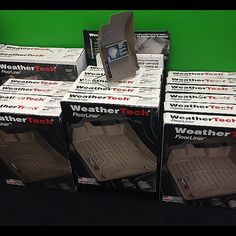 In need of some nice mats give us a call at 859-299-4411. Instock and ready for the winter. #weathertech -  #caraudio #liftedtrucks #offroad #truckaccessories #windowtinting