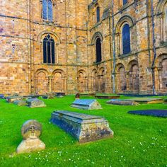 I'm a history nerd at heart, I could spend hours wandering around old cities. The foundations of Durham Cathedral were laid in 1093... and it still stands. Incredible.