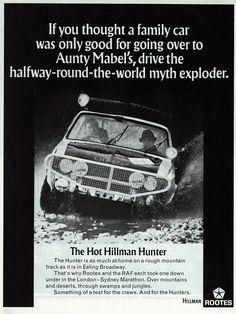 Автомобили и автомодели: Победитель волею судеб: Hillman Hunter London-Sydney Marathon 1968 (Corgi Toys) First Down, Brochures, Marathon, Group, Cars, Poster, Marathons, Catalog, Vehicles