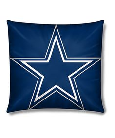 This Dallas Cowboys Plush Throw Pillow by The Northwest Company is perfect! #zulilyfinds