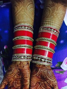 Online Shop for every customer, every range, every country. Want to Purchase our products. You can add us on our what's app no. +91 941637694 or call us with your requirement regarding designs, colour and size of Personalize Name Bangles . We r manufacturer & wholesaler not a trader. You can also send any design of chura. We make it exactly same for you. Reseller Can contact. Punjabi Chura, Punjabi Bride, Punjabi Wedding, Big Fat Indian Wedding, Indian Wedding Jewelry, Indian Bridal, Wedding Chura, Wedding Ties, Bridal Bangles