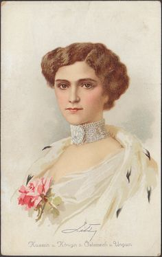Zita, the last Empress of Austria and Queen of Hungary.A♥W