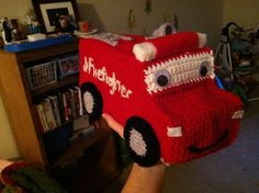 Free Pattern. Ravelry: Fire Truck pattern by Melissa Harsh