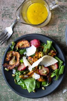NYT Cooking: Golden beets are more savory and earthy than their sugary ruby counterparts and fare better alongside the caramelized roasted winter squash in this many-textured salad. But red beets will work, too, if you don't mind a slightly sweeter dish over all. If you can't find delicata squash, other varieties, such as sweet dumpling (shown here), honey nut or acorn squash, make fine substitutes.