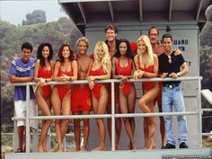 The Cast of Baywatch - It's Sexy Saturday here at TV Fanatic and we're set for summer with these sexy TV characters who are sporting their swimwear.