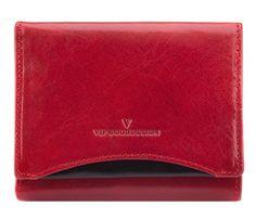 klasyczny czerwony portfel damski :: Sklep Internetowy VIP COLLECTION