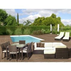 (CLICK IMAGE TWICE FOR UPDATED PRICING AND INFO) #home #patio #sofa #outdoor #outdoorsofa #patiosofa #patiosofaset #loungesets #outdoorpatiosofasets  see more patio sofa at http://zpatiofurniture.com/category/patio-furniture-categories/patio-sofa/ - Atlantic 17 Piece Deep Seating Group with Cushions « zPatioFurniture.com
