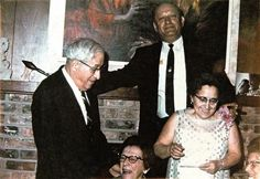 50th anniv party of Brana & Al Pinsky at Carol & Irv Pinsky's house at 4600 Cedarwood Mpls MN Dec 1969 with Al Sara Oxman Kenneth Simon & Brana by Stu Pinsky | by reel3d1