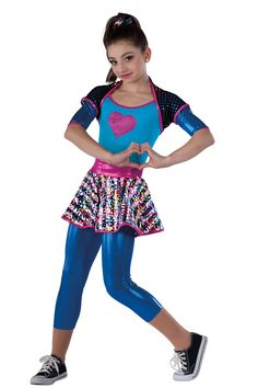 Our hip-hop costumes lend confidence to dancers. Trendy shorts, unitards & leggings are inspired by street style trends and created to impress. Pop Star Costumes, Duo Costumes, Hip Hop Costumes, Hip Hop Dance Outfits, Ropa Hip Hop, Dance Recital Costumes, Dance Poses, Street Style Trends, Girl Poses