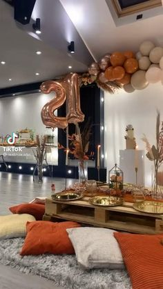 Birthday Party At Home, Birthday Goals, 18th Birthday Party, Birthday Brunch, Birthday Dinners, Birthday Party Themes, Birthday Ideas, Birthday Decorations At Home, Decoration Table