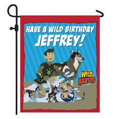 Wild Kratts Wild Birthday Yard Sign from PBS Kids Shop