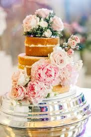 Image result for naked funfetti cake