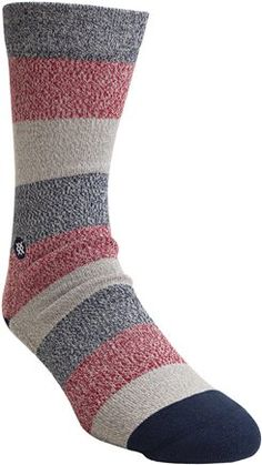 Stance NEW Men/'s Chris Cole Time/'s Out Socks Natural BNWT
