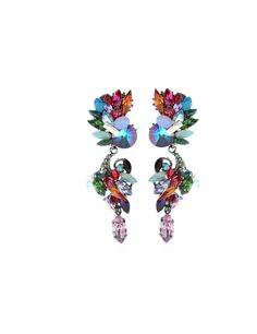 Erdem crystal bead drop earrings £269.00 from mytheresa.com