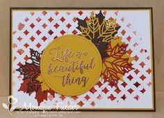 Stampin' Up! Colorful Seasons & Embossing Paste - Stamping With MoniQ: ESAD Blog Hop - Annual Catalogue Favourites