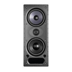 High Performance In-Wall Loudspeaker, Single, Black Home Audio Speakers, In Wall Speakers, Ceiling Speakers, Home Theater Speakers, Ceiling Projector, Projector Mount, Audio Design, Speaker Design, Smart Dimmer Switch