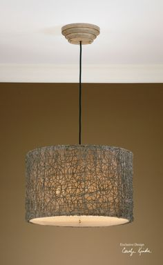 Planning on two of these for dining room lighting.  From Uttermost.  #RANaturals