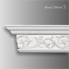 PU decorative scroll crown molding , X X breadth Our moldings are all open to customization. Crown Molding, Decor, Beautiful Architecture, Moldings And Trim, Living Dining Room, Pop Design, Roof Design, Gypsum Design, House Interior