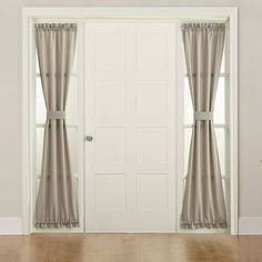 Sun Zero 1 Panel Gramercy Side Light Window Curtain