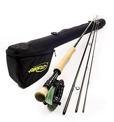 Airflo Elite Complete Trout 4 Section Lightweight Ex Demo Fly Fishing Kits - , 4 Piece Graphite fly rod High Quality Die Cast reel Pre-fitted Super Dri fly line Fly Fishing Kit, Rod And Reel, Fly Rods, Trout, Graphite, Salmon, It Cast, Graffiti, Brown Trout