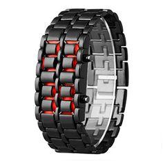 ECHTE Persönlichkeit Korean Fashion Uhren für Männer und Frauen Fashion Armbanduhr Liebhaber Armbanduhr Wasserdicht Armbanduhr Lava LED-Uhr Armband Armbanduhr - http://uhr.haus/josh-duran/echte-persoenlichkeit-korean-fashion-uhren-fuer