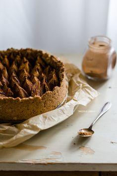 Zwetschgenkuchen mit Walnüssen, Ahornsirup und Zimt