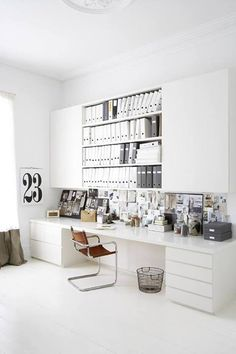 shelves + white.