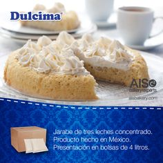 Jarabe tres leches Dulcima, para remojar tus pasteles.