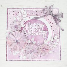 Birthday Cards For Women, Handmade Birthday Cards, Chloes Creative Cards, Stamps By Chloe, Purple Cards, Birthday Card Design, Beautiful Handmade Cards, Flower Cards, Making Ideas
