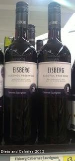 Eisberg Alcohol Free Wines - Low Calorie!
