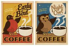 coffee early bird night owl