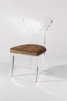 Superbe VICTORY DINING CHAIR By Shahrooz Shahrooz Art.com   #AcrylicFurniture,  #LuciteFurniture. Acrylic FurnitureLucite ...