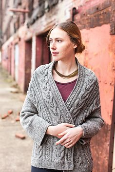 From Jared Flood's Brooklyn Tweed, an early Christmas gift:   Wool People V. 4: Stranger Cardigan pattern by michiyo  brooklyntweed.net