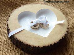 Einbauleuchten Herz Ring Bearer Kissen mit von thatfamilyshop