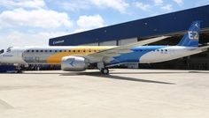 Embraer presented the largest aircraft of the second generation of the E2-Jets family, the most proficient aircraft in the single aisle jet market: the E195-E2 in a ceremony held at its facilities in São José dos Campos